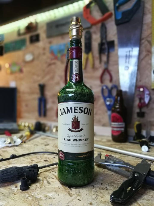 Jameson Whiskey Lamp