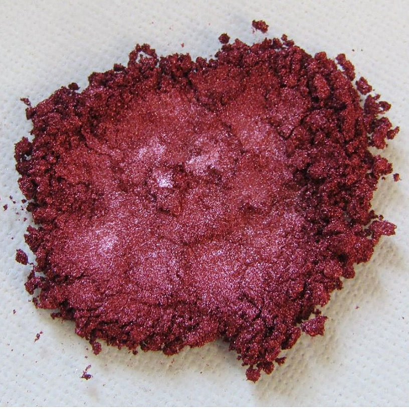 'Crushed Crimson' Shimmer Pigment