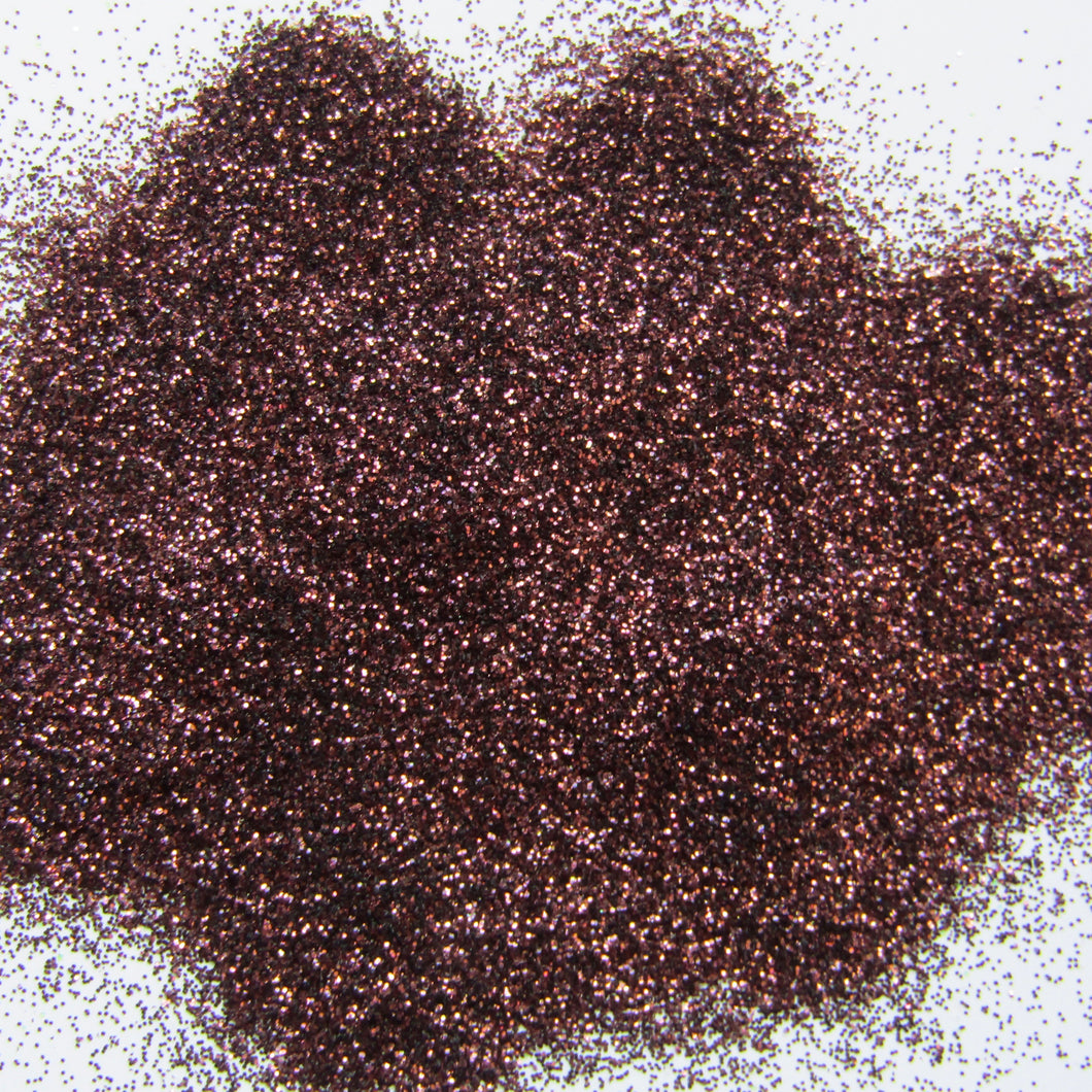'Mochalatte' Fine Chocolate Brown Glitter