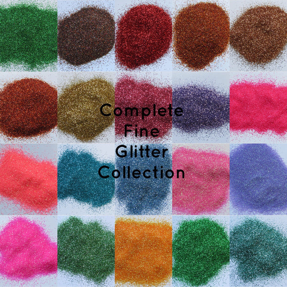 Complete Premium Cosmetic Fine Glitter Collection