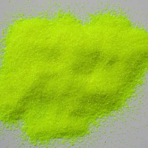 'Acidic' Fine Neon Yellow Glitter