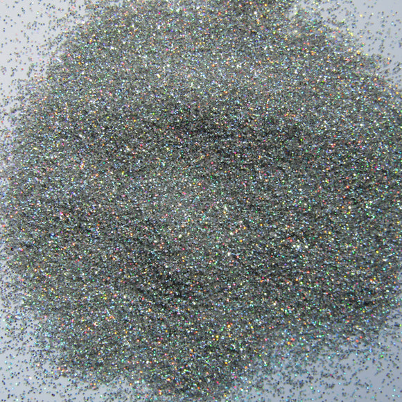 'Crushed Diamonds' Fine Holographic Diamond Silver Glitter