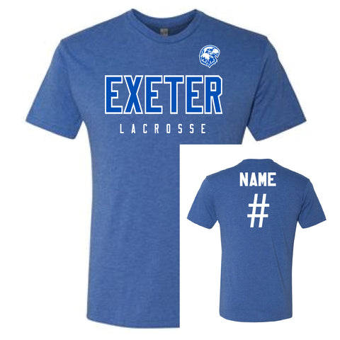 Exeter Lacrosse Short Sleeve T-Shirt - CUSTOM
