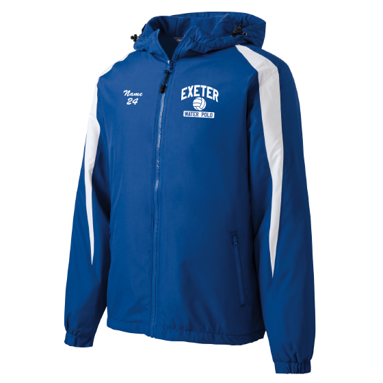 Customized Exeter Waterpolo Jacket - Royal