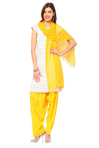 Castle Yellow Salwar Dupatta