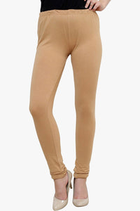 Fawn Cotton Lycra Leggings