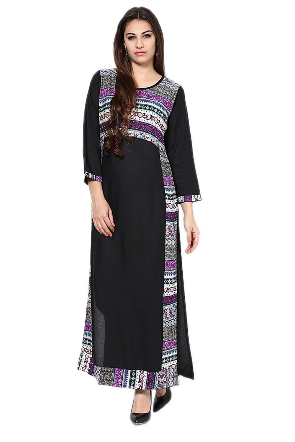 Castle Multicoloured Printed Kurta
