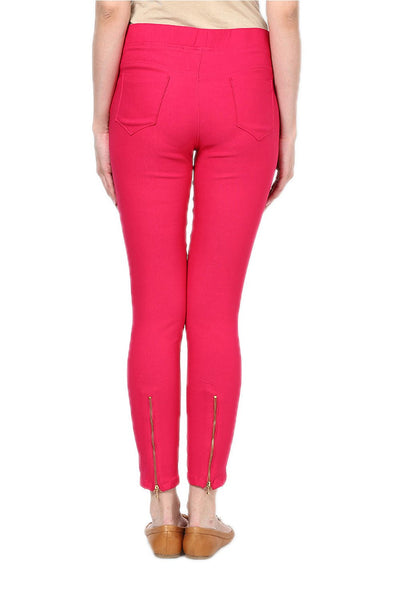Castle Magenta Zip Jegging - Castle Lifestyle