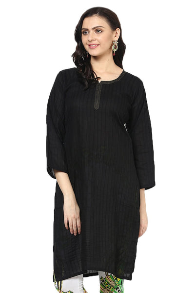 Castle Black Pintex Kurta