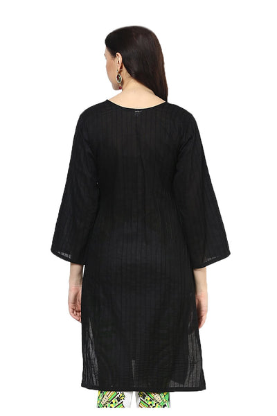 Castle Black Pintex Kurta - Castle Lifestyle