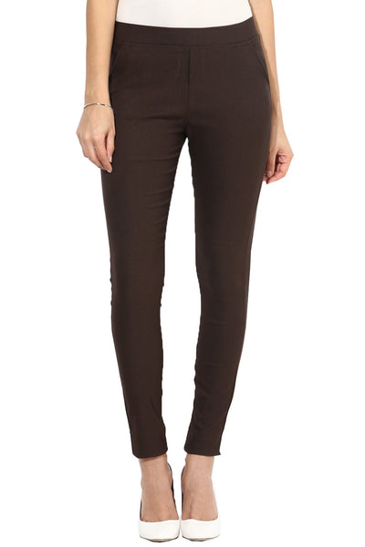 Castle Coffee Plain Jegging