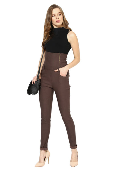 Castle Coffee High Waist Jegging - Castle Lifestyle