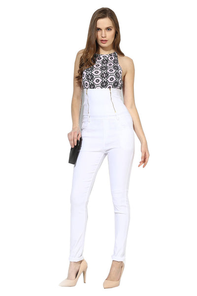 Castle White High Waist Jegging - Castle Lifestyle