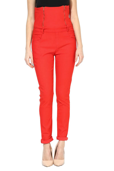 Castle Peach High Waist Jegging