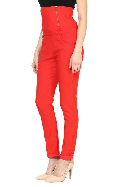 Castle Peach High Waist Jegging - Castle Lifestyle