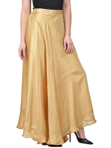 Castle Light Golden Solid Shimmer Skirt