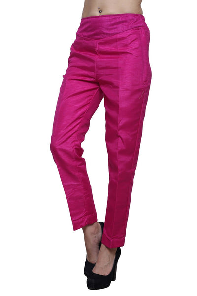 Castle Pack of 2 Raw Silk Pencil Pants - Castle Lifestyle