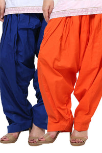 Castle Pack of 2 Cotton Patiala Salwar