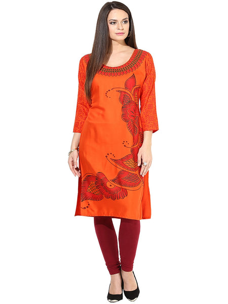 Castle Pack of 2 Printed Rayon Kurta - Castle Lifestyle