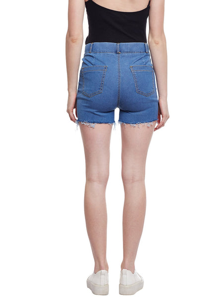 Castle Light Blue Denim Shorts - Castle Lifestyle