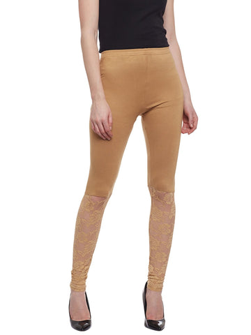 Castle Fawn Half Net Viscose Legging