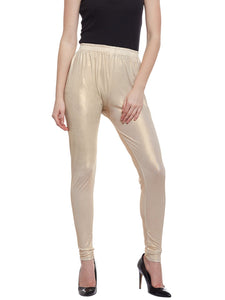 Castle Off-White Shimmer Legging