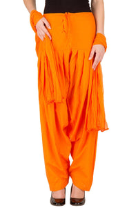 Castle Orange Salwar Dupatta