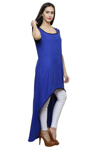 Castle Royal blue Rayon Kurta - Castle Lifestyle