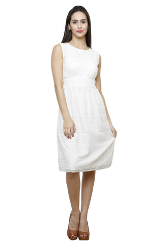Castle Ivory Net Dress - Castle Lifestyle