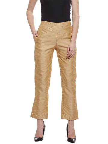 Castle Fawn Raw Silk Pant