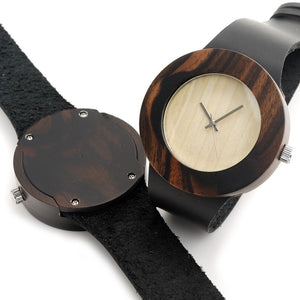 "Wooden Watch ""Black Dream"" - Women"
