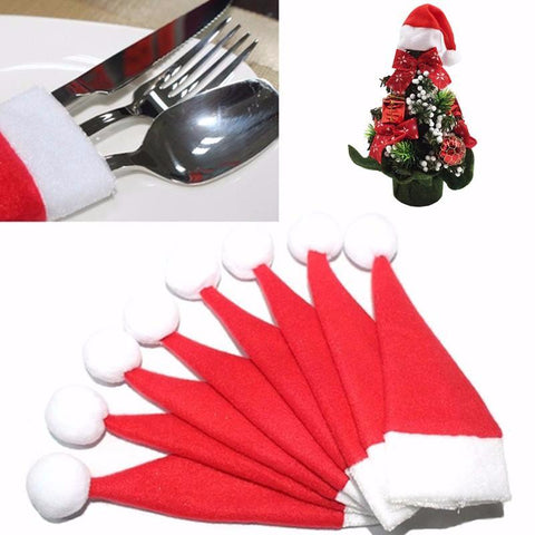 Image of Christmas Silverware Holder 10pcs-Gift-Hut