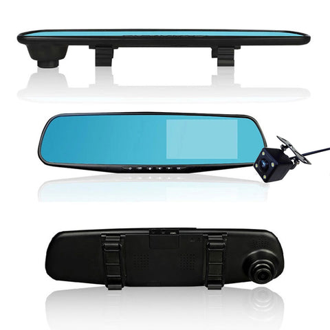 Rearview Mirror Dash-Cam & optional Reversing Camera-Gift-Hut