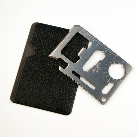 11 in 1 Multi-function Credit Card Tool-Gift-Hut