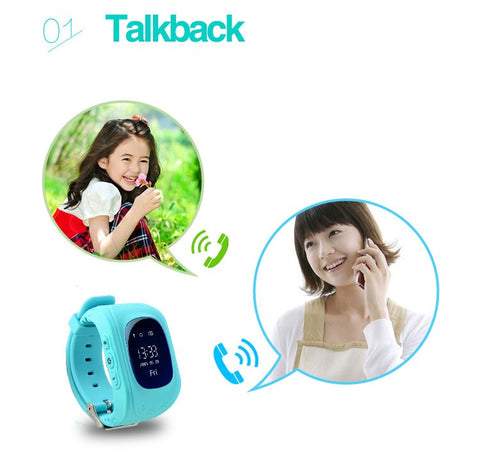 Image of KidSafe™ SOS Tracker Smartwatch-Gift-Hut