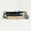 "Image of ""Her King"", ""His Queen"" - Set of Matching Bracelets-Gift-Hut"