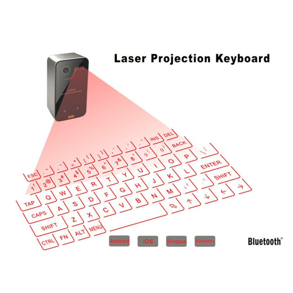 Laser Projection Keyboard And Mouse-Gift-Hut