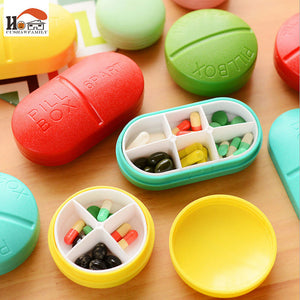4/6 Slots Folding Pill Cases-Gift-Hut