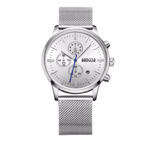 Image of Stainless Steel Mesh Band Quartz Wristwatch-Gift-Hut