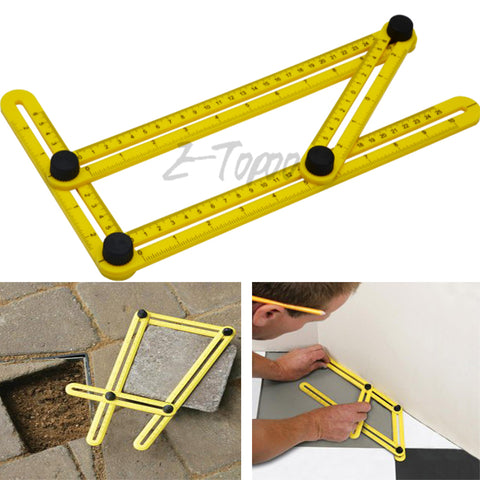 Image of Four-sided Perfect Angle Folding Ruler-Gift-Hut