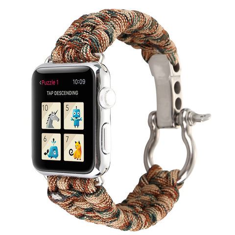 Image of Paracord Survival Apple Watch Strap-Gift-Hut