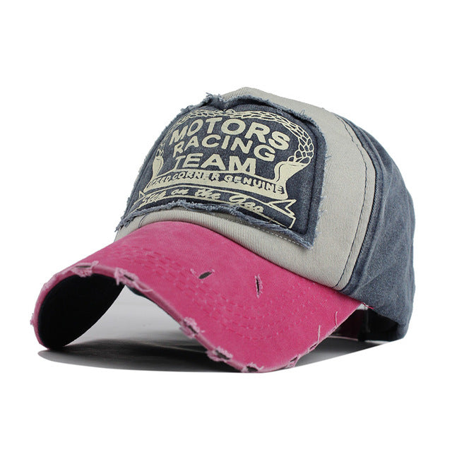 Motor Racing Baseball Cap - Rose-Gift-Hut