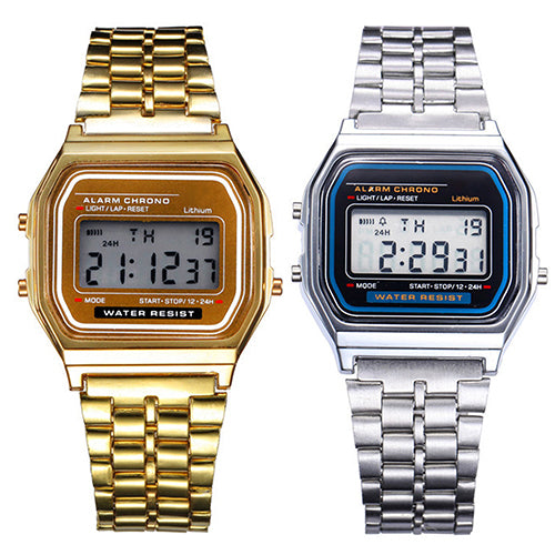 Retro LCD Digital Watch-Gift-Hut
