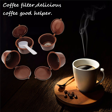 Image of Reusable Coffee Capsules (x4) for Dolce Gusto® coffee machines-Gift-Hut