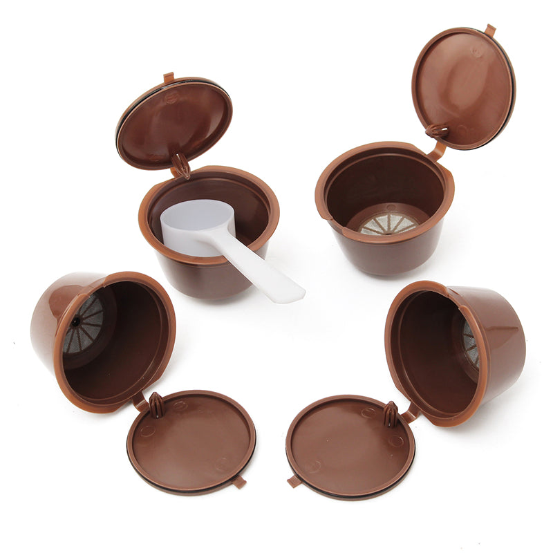 Reusable Coffee Capsules (x4) for Dolce Gusto® coffee machines-Gift-Hut