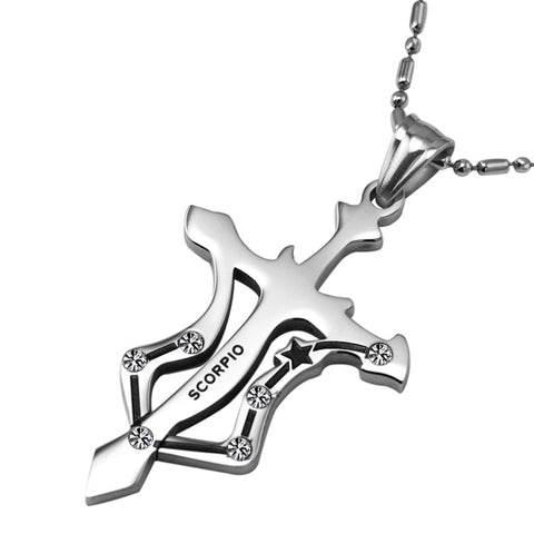 Image of Zodiac Constellations Pendant Necklace-Gift-Hut
