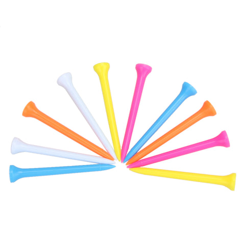 Image of 100Pcs/Set Mixed Color Lightweight 69mm Golf Tees-Gift-Hut