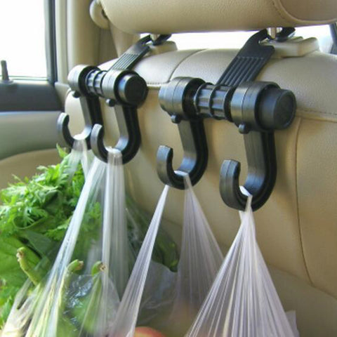 Image of Car Seat Headrest Double Hanger Hooks-Gift-Hut