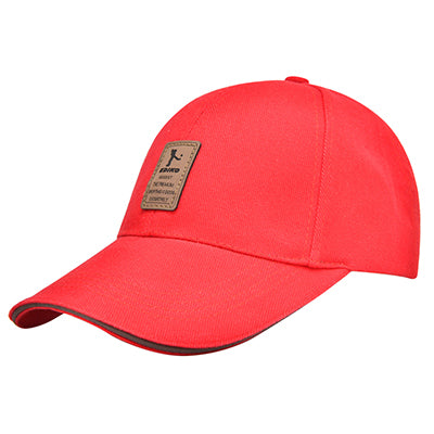 Casual Baseball Cap - Red-Gift-Hut