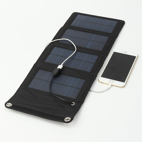 Travel Folding Solar Power Bank Battery Charger
